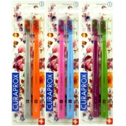 Curaprox 5460 Ultrasoft  2-pack Flower edition